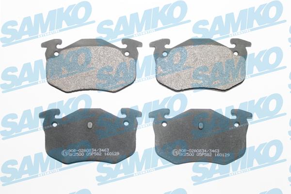 Спирачни накладки SAMKO-5SP582