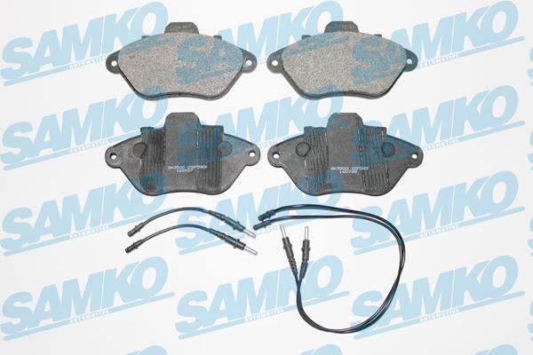 Спирачни накладки SAMKO -5SP583