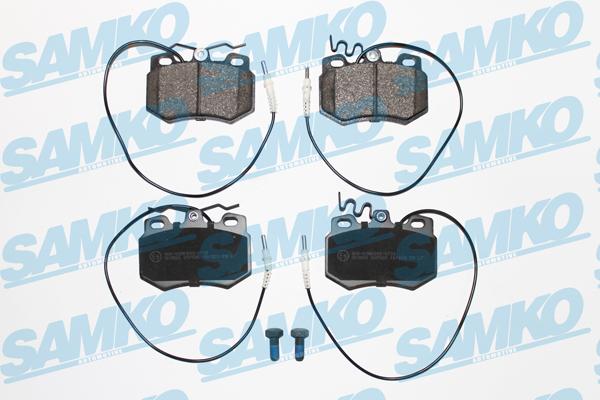 Спирачни накладки SAMKO -5SP585