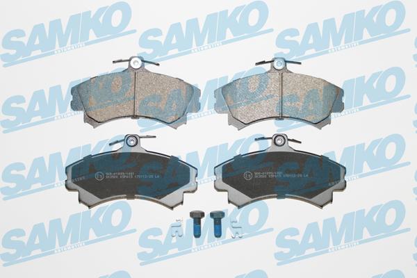 Спирачни накладки SAMKO -5SP615