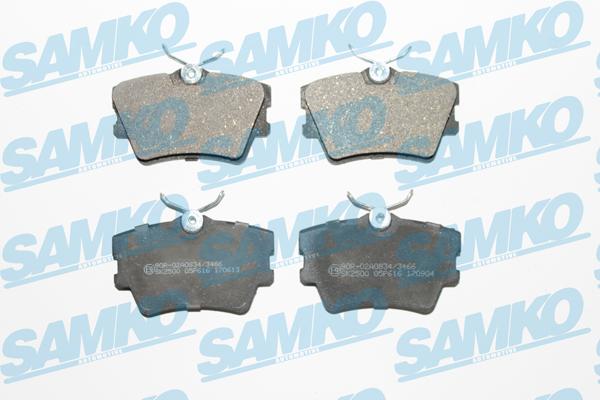 Спирачни накладки SAMKO -5SP616