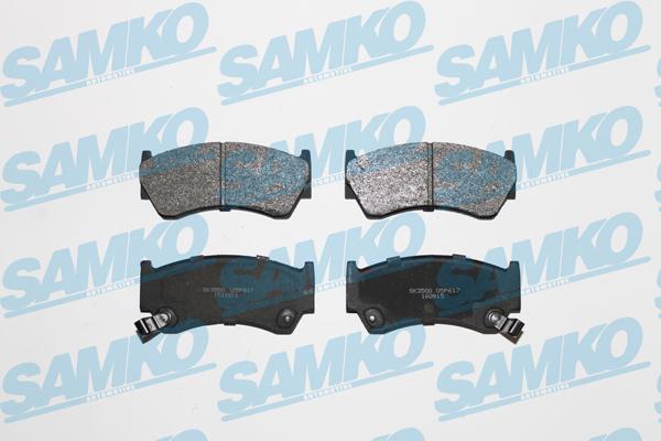 Спирачни накладки SAMKO -5SP617