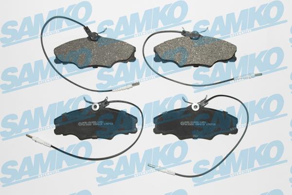 Спирачни накладки SAMKO -5SP619