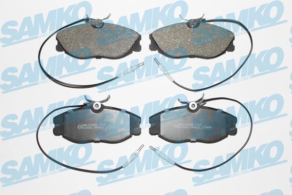 Спирачни накладки SAMKO -5SP620