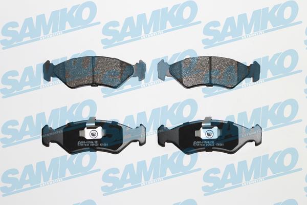 Спирачни накладки SAMKO -5SP625