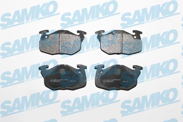 Спирачни накладки SAMKO 5SP642