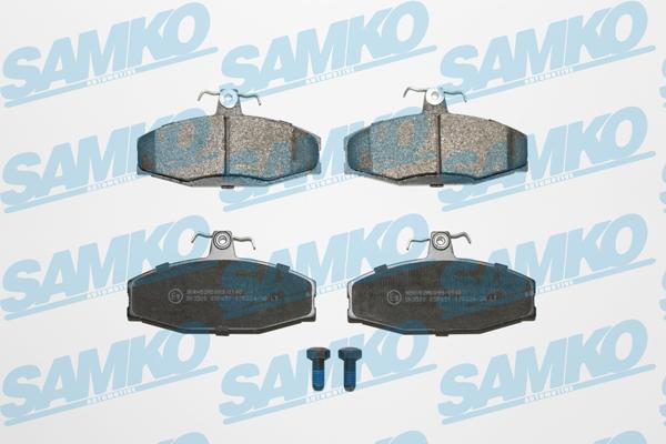 Спирачни накладки SAMKO -SP651