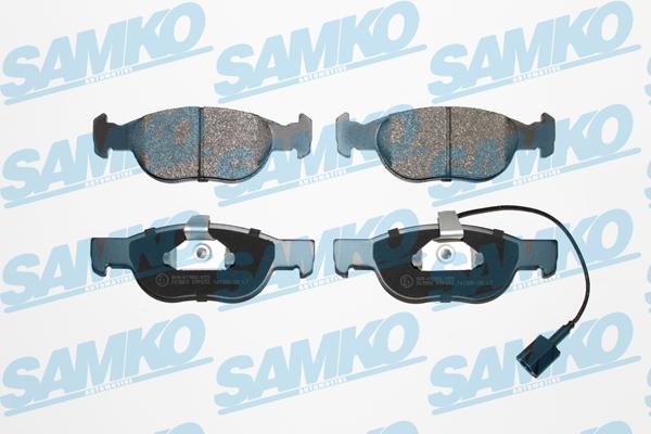 Спирачни накладки SAMKO -5SP652