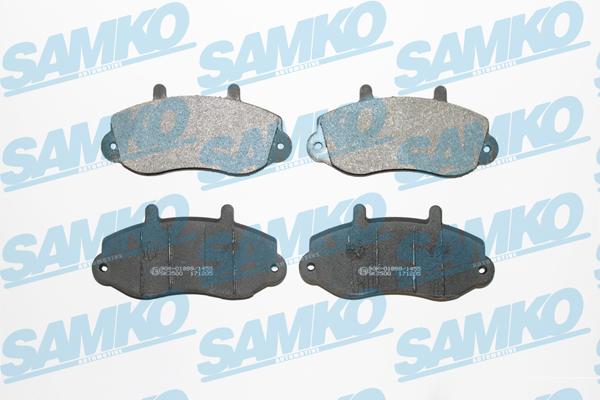 Спирачни накладки SAMKO - 5SP663