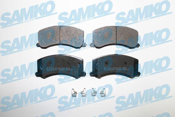 Спирачни накладки 5SP665