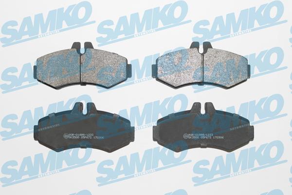 Спирачни накладки SAMKO -5SP672