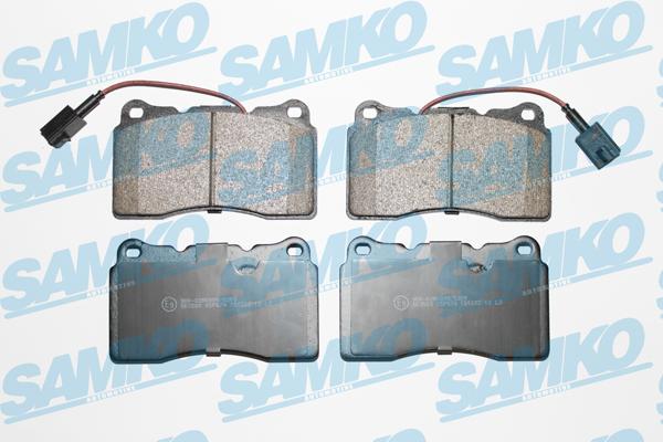 Спирачни накладки SAMKO -5SP674