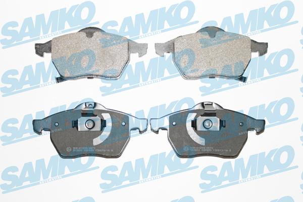 Спирачни накладки SAMKO -5SP689