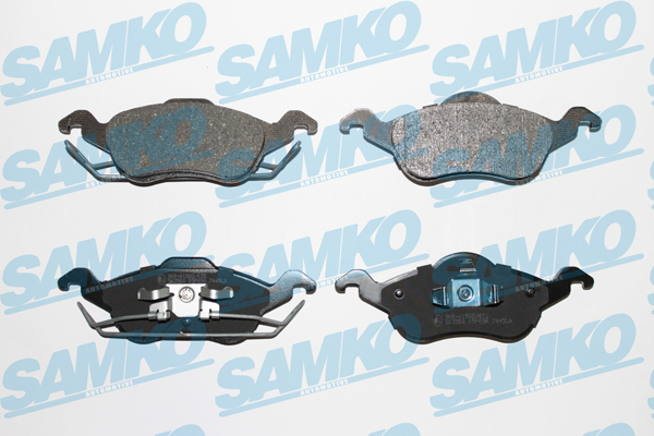 Спирачни накладки SAMKO -5SP696