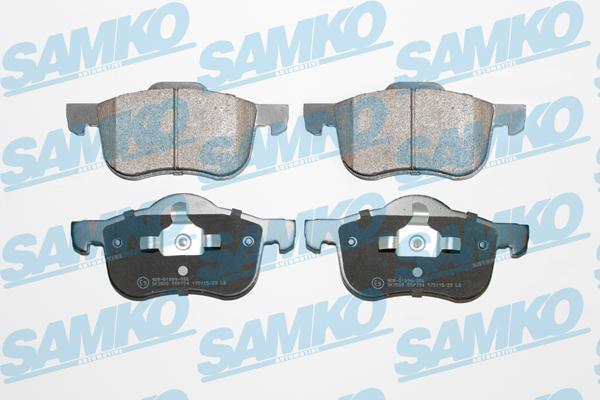 Спирачни накладки SAMKO -5SP704