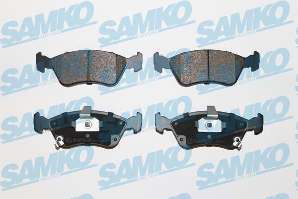 Спирачни накладки SAMKO 5SP709