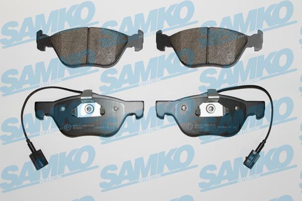 Спирачни накладки SAMKO -5SP720