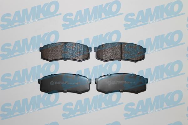Спирачни накладки SAMKO -5SP749