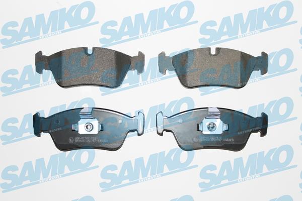 Спирачни накладки SAMKO -5SP757