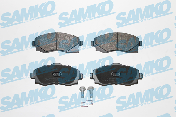 Спирачни накладки SAMKO -5SP758