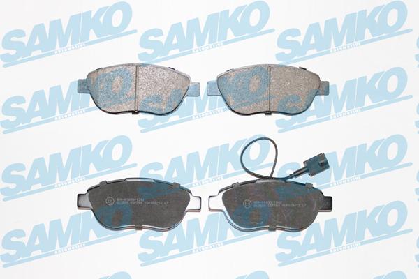 Спирачни накладки SAMKO -5SP764