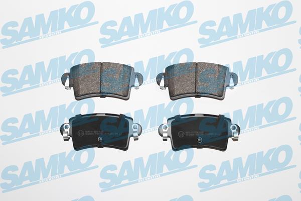 Спирачни накладки SAMKO -5SP791