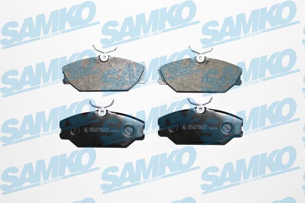 Спирачни накладки SAMKO - 5SP816