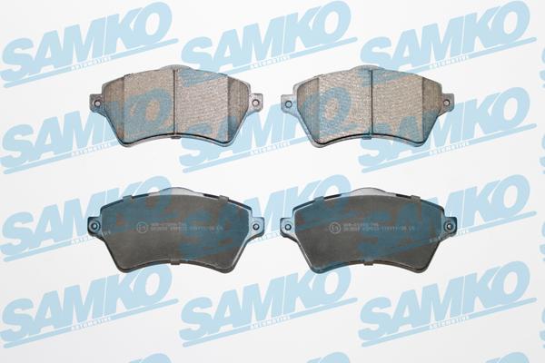 Спирачни накладки SAMKO -5SP833