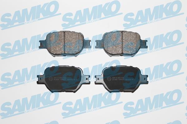 Спирачни накладки SAMKO -5SP837