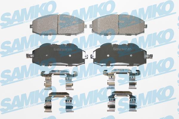 Спирачни накладки SAMKO -5SP845