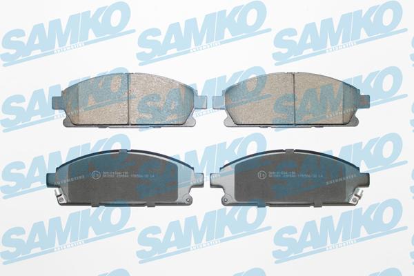 Спирачни накладки SAMKO -5SP846