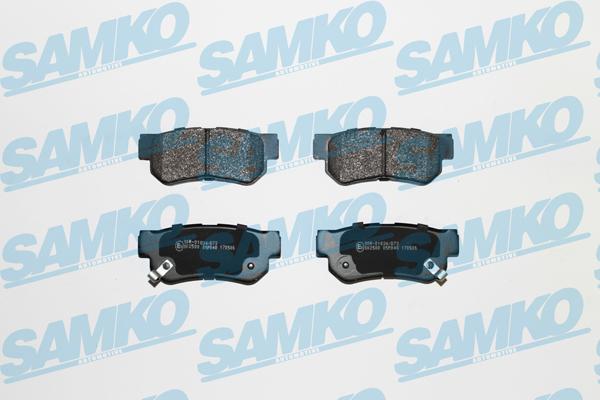 Спирачни накладки SAMKO 5SP848