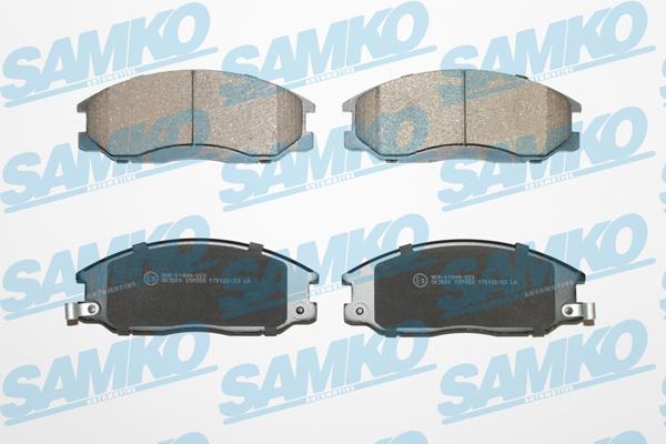 Спирачни накладки SAMKO -5SP858