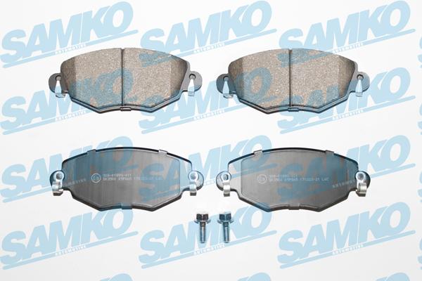 Спирачни накладки SAMKO -5SP865