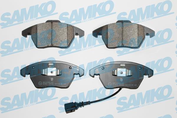 Спирачни накладки SAMKO -5SP866