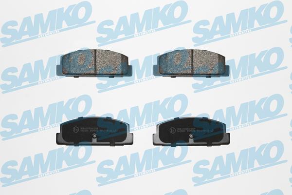 Спирачни накладки SAMKO -5SP876
