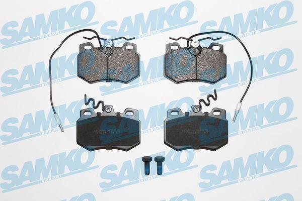 Спирачни накладки SAMKO за PEUGEOT 205 - 5SP272