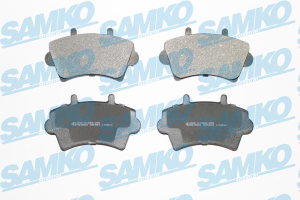 Спирачни накладки SAMKO 5SP884