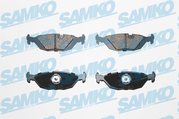 Спирачни накладки SAMKO 5SP887