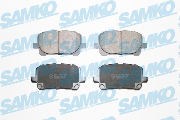 Спирачни накладки 5SP904