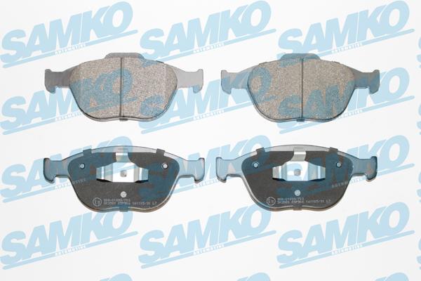 Спирачни накладки SAMKO 5SP906
