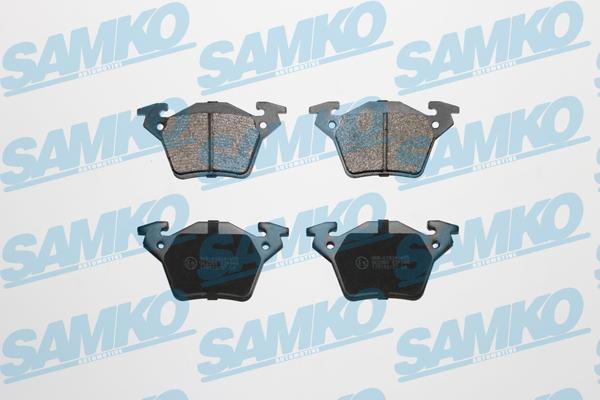 Спирачни накладки SAMKO 5SP948