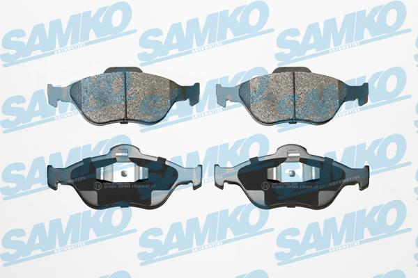 Спирачни накладки SAMKO -5SP949