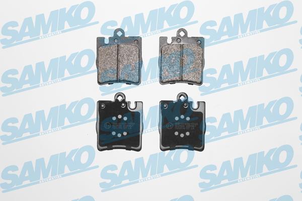 Спирачни накладки SAMKO - 5SP957