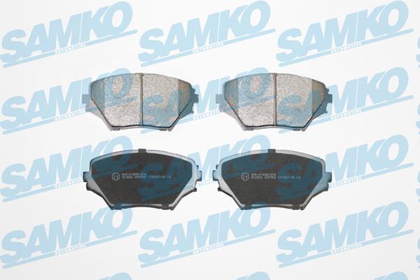 Спирачни накладки SAMKO -5SP958