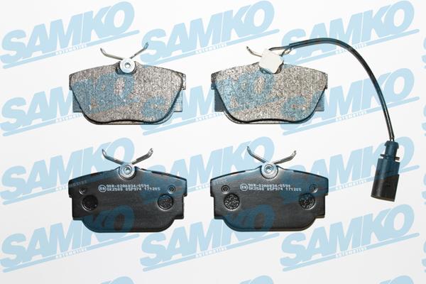 Спирачни накладки SAMKO -5SP974