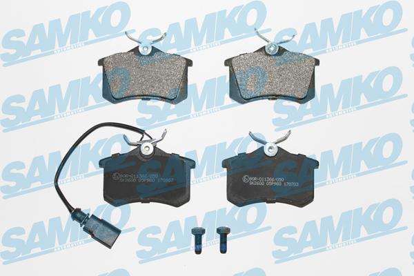 Спирачни накладки SAMKO -5SP980