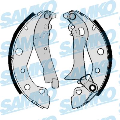 Спирачни накладки SAMKO -80020