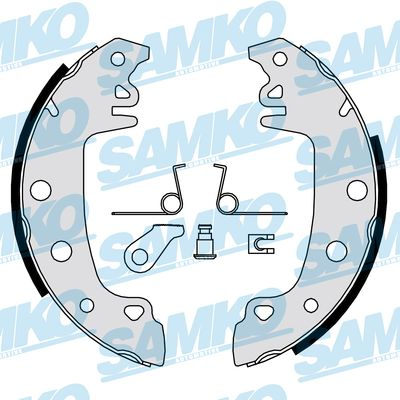 Спирачни накладки SAMKO - 80771