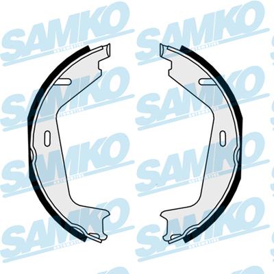 Спирачни накладки SAMKO -81036